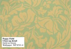 traditional wallpaper design from 1880-1890