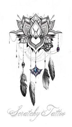 O que outras pessoas estão dizendoMandala tattoo - Mandala Mond - Traumfänger - Blütenschleife - Tattoo-Designs - Atrapasueños Tattoo, Form Tattoo, Shape Tattoo, Tattoo Moon, Tattoo Fonts, Small Flower Tattoos, Small Tattoos, Forearm Tattoos, Sleeve Tattoos