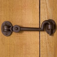 Solid Bronze Cabin Door Hook Latch for Office door