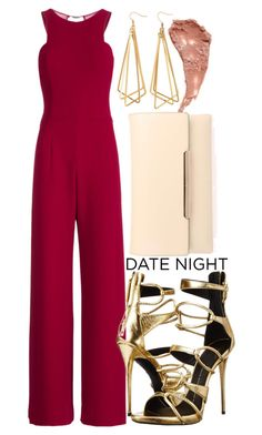 """Untitled #359"" by trinirockstarr ❤ liked on Polyvore featuring Halston Heritage, H&M, Giuseppe Zanotti, Charlotte Tilbury and Christian Louboutin"