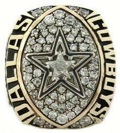 1992 Dallas Cowboys Super Bowl Championship Ring