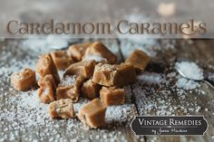Yes, these treats are as amazing as they sound! Homemade caramels often seem intimidating, but this recipe is simple and straightforward. The cardamom adds depth to the soothing caramel flavor and boosts health benefits through anti-inflammatory and digestive enhancing actions. The herb (a ...