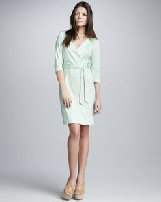 Julian Wrap Dress at CUSP.