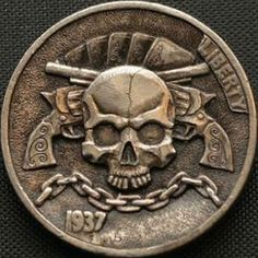 hobo nickel for sale Arizona Tattoo, Patriotic Tattoos, 3d Cnc, Hobo Nickel, Coin Art, Silver Dimes, Skull Wallpaper, Bullion Coins, Coin Values