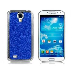 Jeweled Glitter Blue Samsung Galaxy S4 Case