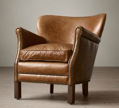this small scale club chair is perfect for rooms where space is