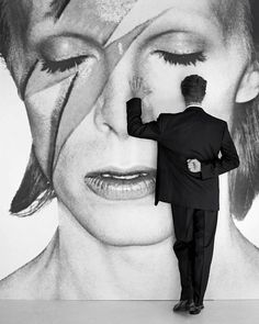 Just love this photo. David Bowie photographed by Herb Ritts, 1990. #davidbowie #bowie