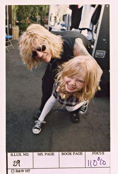 Duff McKagan Family | duff mckagan #grace mckagan #guns n' roses #family mckagan