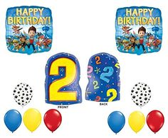 Paw Patrol Happy Birthday Balloon Decoration Kit >>> Have a look at the image by seeing the link. (This is an affiliate link). Birthday Balloon Decorations, Happy Birthday Balloons, Top Toddler Toys, Paw Patrol Party, Thing 1, 2nd Birthday, Birthday Ideas, Party Supplies, Kit