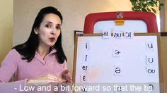 Pronunciation of English Vowel Sounds 4 - Central Vowels - Part 1 (with ...