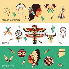 Image result for Native american vector images art