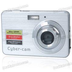 """5.0MP CMOS Compact Digital Video Camera w / 8x digitale zoom / SD-slot (2.7 """"TFT LCD-scherm) van 69,= voor Euro 40,15"""
