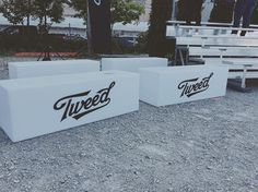 """""""Looking for some diecut vinyl to spice up an event space? Check out these branded benches we did for our friends @tweedfarms ! #diecut #vinyl #events #toronto #tweed #summer"""" by @detonategroup. #이벤트 #show #parties #entertainment #catering #travelling #traveler #tourism #travelingram #igtravel #europe #traveller #travelblog #tourist #travelblogger #traveltheworld #roadtrip #instatraveling #instapassport #instago #여행 #outdoors #ocean #mytravelgram #traveladdict #world #hiking #lonelyplanet…"""