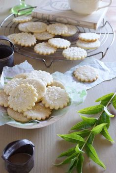 Lemon Verbena Shortbread / Patty's Food