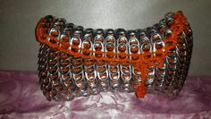 Outrageously orange can tabs clutch - Ashlea's Designs
