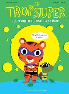 Une nouvelle aventure humoristique en bande dessinée de Super Tigre et Tortue Flash. Des super-héros qui sont aussi de vrais enfants.