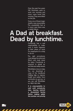 Print ad: Worksafe: Cross