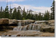 Tuolumne River Cascades,Yosemite National Park