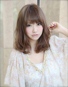 Japanese Medium Hairstyle