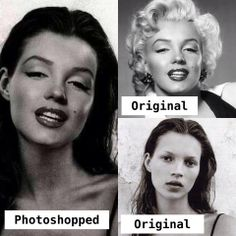 Fake - Circulating as a young Marilyn Monroe - It's a Kate Moss/Marilyn Monroe mash up...