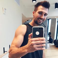 "James Maslow on Instagram: ""Grind time! Even finishing an album won't stop me from getting in a workout #maslowmusic"""