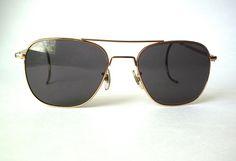 Vintage American Optical AO 6 1/2 Command Aviator Sunglasses