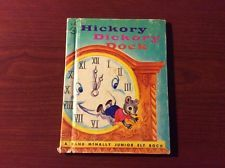 Rand McNally Junior Elf Book - HICKORY DICKORY DOCK 1964