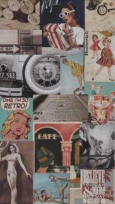 33 Ideas for wallpaper retro vintage Aesthetic Pastel Wallpaper, Retro Wallpaper, Trendy Wallpaper, Pattern Wallpaper, Aesthetic Wallpapers, Cute Wallpapers, Vintage Wallpapers, Marble Wallpapers, Black Wallpaper
