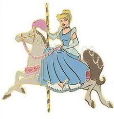 DISNEY PINS | Pin 23955: Disney Auctions - Princess Carousel Horse (Cinderella)