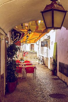 small cafe in Albufeira, Portugal - small cafe by Krasheninnikov Stepan on 500px