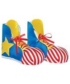 Clown Adult Shoe Covers
