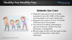 #Windiabetes shares tip on #Diabetes #EyeCare #Glaucoma #DiabetesCare #HealthTip. #HealthyYouWealthyYou #WinzDiabetes #Aware #Action #Attain
