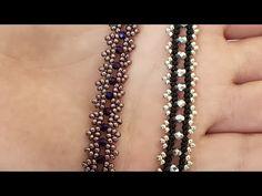 Easy Elegant Bracelet Making - Kralen Life Beaded Bracelets Tutorial, Beaded Bracelet Patterns, Handmade Bracelets, Beaded Jewelry, Beaded Necklace, Neon Bracelets, Seed Bead Bracelets, Jewelry Making Tutorials, Seed Bead Tutorials