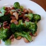 Broccoli, Bacon and Cashew Salad | Paleo Diet Recipes