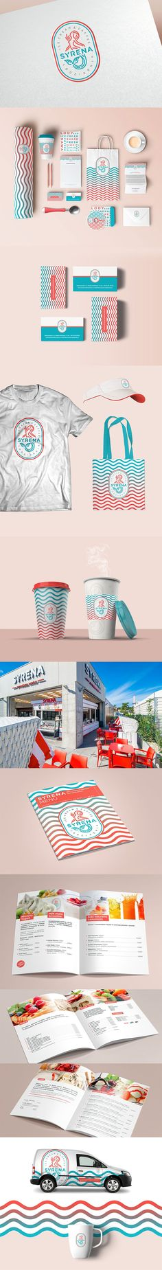 Ice Cream Branding And Packaging: A Collection of 50 Deliciously Creative Designs – corporate branding identity Corporate Design, Corporate Branding, Branding And Packaging, Cafe Branding, Brand Identity Design, Graphic Design Branding, Packaging Design, Identity Branding, Visual Identity