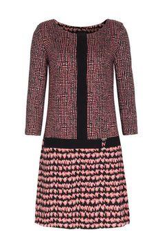 ana alcazar Strickkleid mit Tupfen-Print bei myClassico - Premium Fashion Online Shop