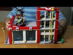 Lego City 60004 Fire Station Build & Review - YouTube