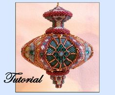 Ricky's Top Beaded Ornament by beadedpatterns on Etsy, $25.00