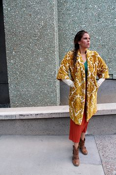 #Vintage Coats from Chicks Who Give A Hoot and Antique Sugar