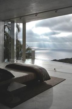 Entspannung Blick aufs Meer - Wohnen - Schlafzimmer Entspannung Blick aufs Meer - Wohnen - Retractable Clothes Line home interior design Dream Rooms, Dream Bedroom, Home Bedroom, Bedroom Decor, Bedroom Ideas, Master Bedrooms, Bedroom Beach, Bedroom Designs, Master Suite