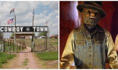 This South Dakota ghost town has been taken over by animatronic cowboy robots - Posted on Roadtrippers.com!