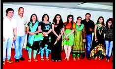 Moravekar family with Bollywood Stars and Celebrities