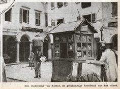 Kiosk, Hillside Village, Corfu Town, Greece Pictures, Corfu Greece, Cypress Trees, Vintage Pictures, Venetian, Old Photos