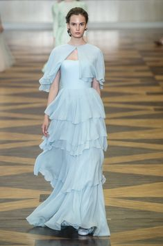 Ulyana Sergeenko at Couture Fall 2018 - Runway Photos