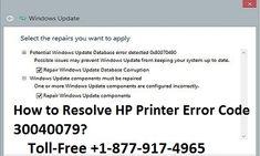 Steps to Fix HP Printer Error Code 30040079 by Our HP Printer Support Service Team Dial HP Printer Customer Support Phone Number for Online Help to troubleshoot HP Common Printer Errors and Messages. Error Code, How To Apply, How To Get, Hp Printer, Customer Support, Coding, Canada, Number, Touch