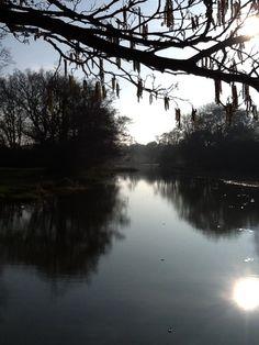 Michelham Priory, East Sussex - moat