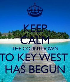 """45 to 30 days before vacation I would start my countdown ~ """"We're goin' on…"""
