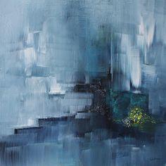 umj.art - Ulla Maria Johanson: 2017-12-12 #1128NewcomerAcrylic on board, 20x20 c...