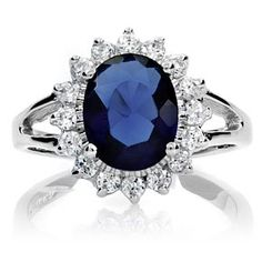 Kate Middleton's sapphire ring previously worn by Prince William's mother, Lady Diana Spencer