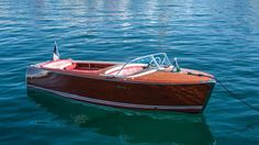 BRIGITTE BARDOT'S RIVA FLORIDA. The boat was christened Nounours - French for Teddy Bear.
